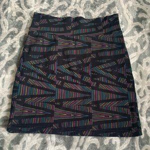 80's inspired mini skirt